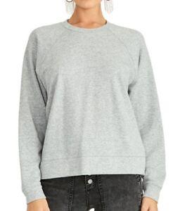 Rachel Rachel Roy Womens Sweaters Gray Size XS Pullover Eyelet-Back $69 530