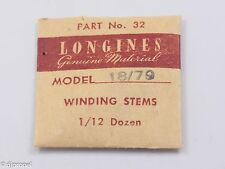 Longines Genuine Material Stem Part 32 for Longines Cal. 18/79