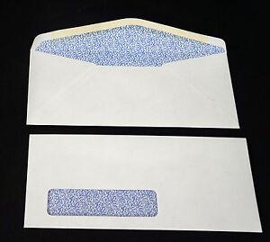 Image Is Loading 10 Security Window Envelopes 10 24 4 125