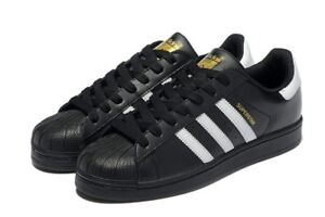 adidas superstar black original