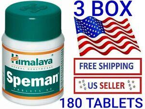 3-pcs-Himalaya-Herbals-Speman-180-Tablets-USA-EXPRESS-SHIPPED-EXP-12-2022