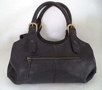 Debenhams Collection Black Leather Bag