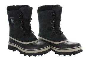SOREL Caribou Men's Boots in Black  ~ Various Sizes ~ WOW ! !