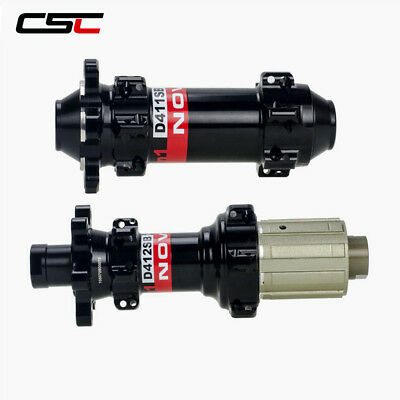 Ultralight 4in1  Straight Pull MTB Hub D411SB//D412SB Black Disc Brake Hubset
