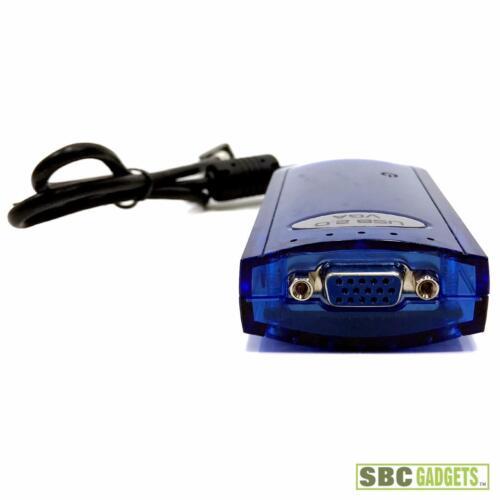 USB 2.0 VGA External Display Adapter FREE SHIPPING