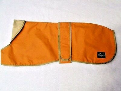 "24"" 26"" 28"" 30"" Greyhound Lightweight Waterproof Rain MacCoat Amber Gold Unlined"