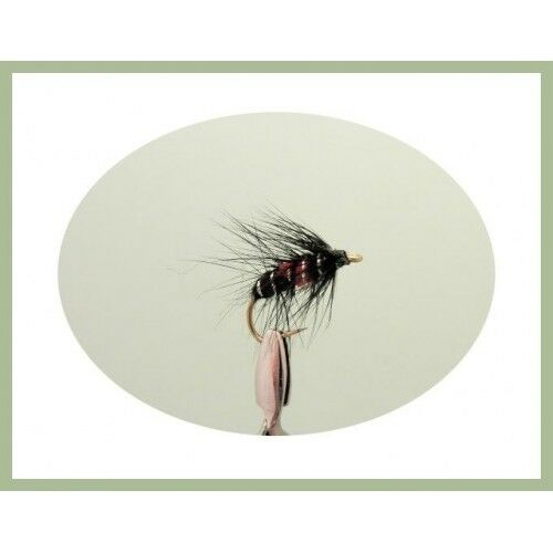 for fly fishing Loads of variety and sizes 40 Mixed pack Wet Trout Flies