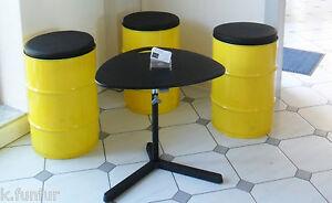 Cuscino per sedia 37x4 cm tondo pelle sintetica sgabello bar rialzo