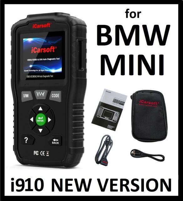BMM V1.0 for BMW X series E53 E71 E84 OBD2 Battery Tester ECU Diagnostic Scanner