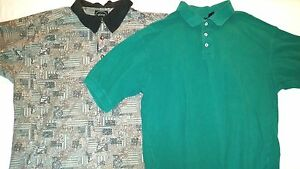 Men's Lot of 2 Polo Tops Size XL