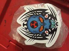 Spider Skull Skateboard Pushead-style STICKER - Lot Of 100