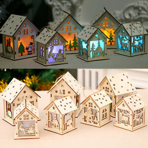piece-decorative-cabine-noel-wood-house-la-pendaison-lampe-a-led-noel-ornement