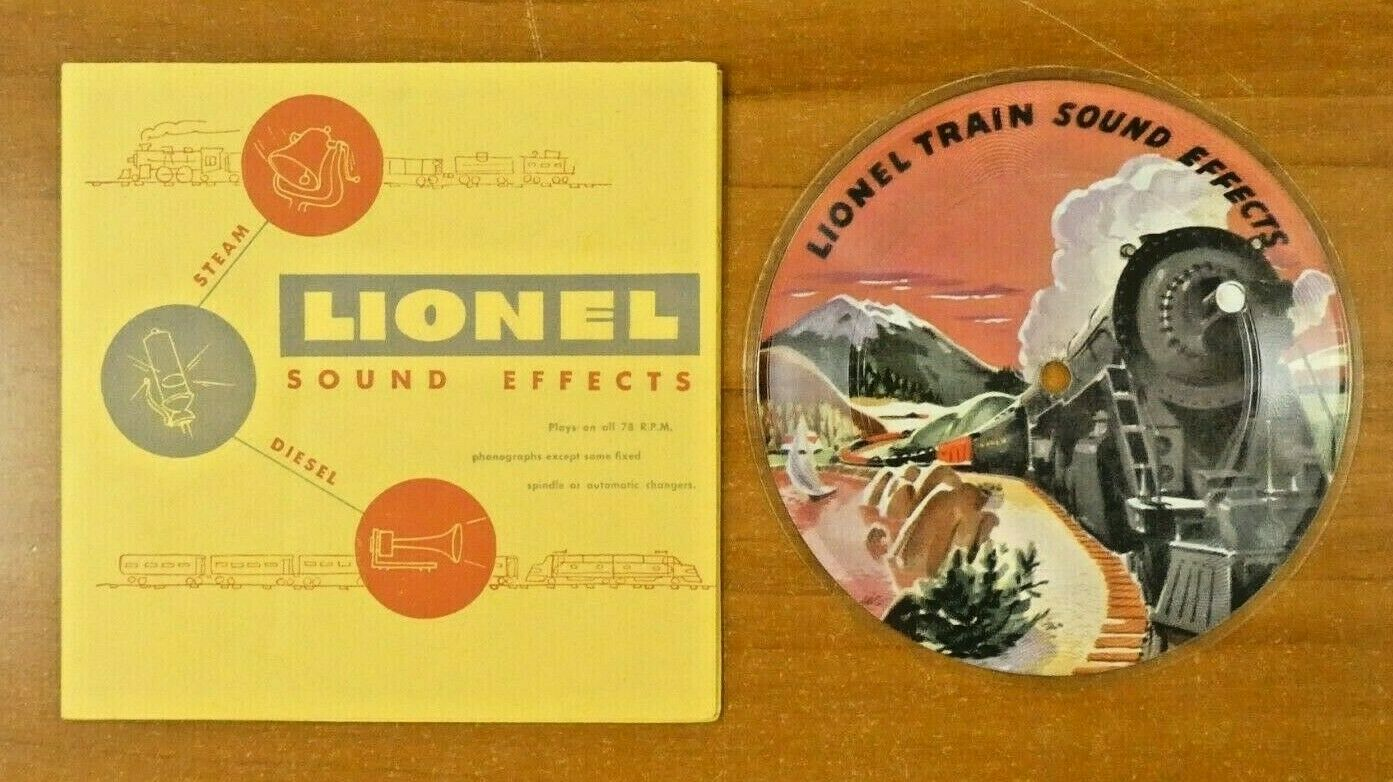 1947 Lionel Sound Effects in Original Holder Mint