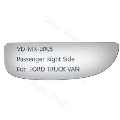 Lower Towing Mirror Glass for 99-07 FORD F-250 350 450 550 Passenger Right Side