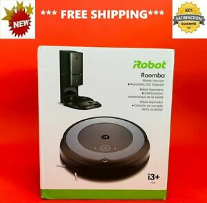 NEW iRobot ROOMBA i3+ Wi-Fi Connected ROBOT VACUUM Automatic DIRT Disposal