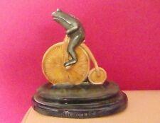 Raras Royal Doulton archivos George tinworth Rana ciclista LW4 Ltd Ed-Perfecto!!!