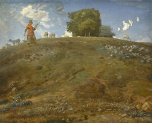 Jean-Francois-Millet-In-The-Auvergne-Fine-Art-Print-on-Canvas-HQ-Giclee-Small