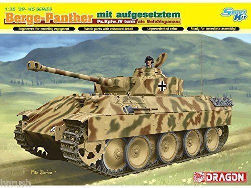Dragon Berge-Panther m aufgesetztem Pz.Kpfw.IV turm Panzer 1 35 Bausatz Kit 6835  | Hohe Qualität Und Geringen Overhead
