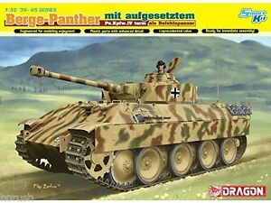 Dragon Berge-Panther M Attached pz.kpfw.iv Tower Solid 1:3 5 Kit Set 6835