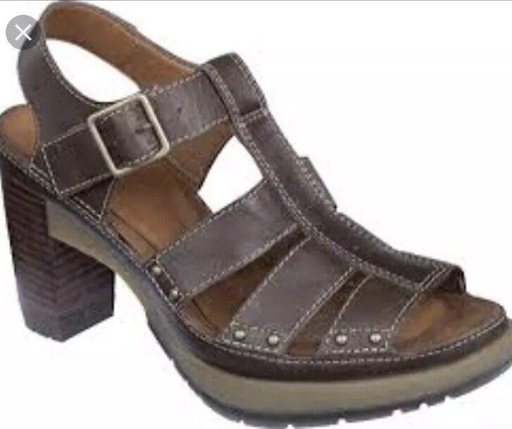 Dr Martens Vanessa Brown Sandals Size 8
