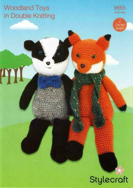 Realistic crochet badger pattern | Son's Popkes | 640x452