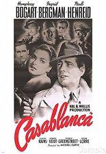 Humphrey Bogart Casablanca 1942 Cine Película Cartel De Cine Imprimir Fotos A4