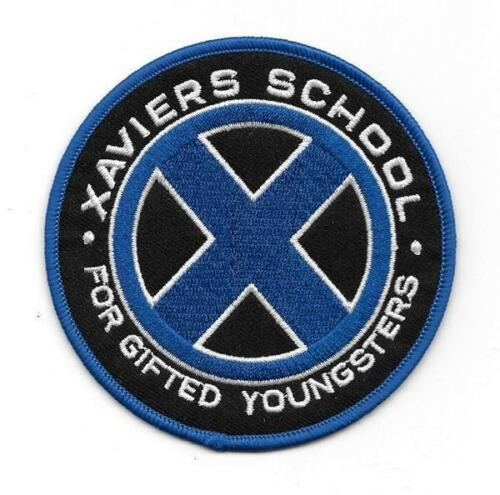 Marvel Comics X-MEN Xaviers School For Gifted Youngsters Emb Sewn//Iron On Patch