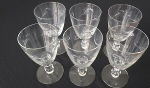 Set-of-6-Cut-Crystal-Stemmed-Wine-Glasses-8-oz-Capacity