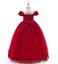 Kids-Flower-Girl-Princess-Dress-for-Girls-Party-Wedding-Bridesmaid-Gown-ZG8 thumbnail 15