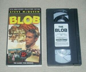 The-Blob-VHS-with-Steve-McQueen-filmed-in-1958-35th-Anniv-Collector-039-sEdition