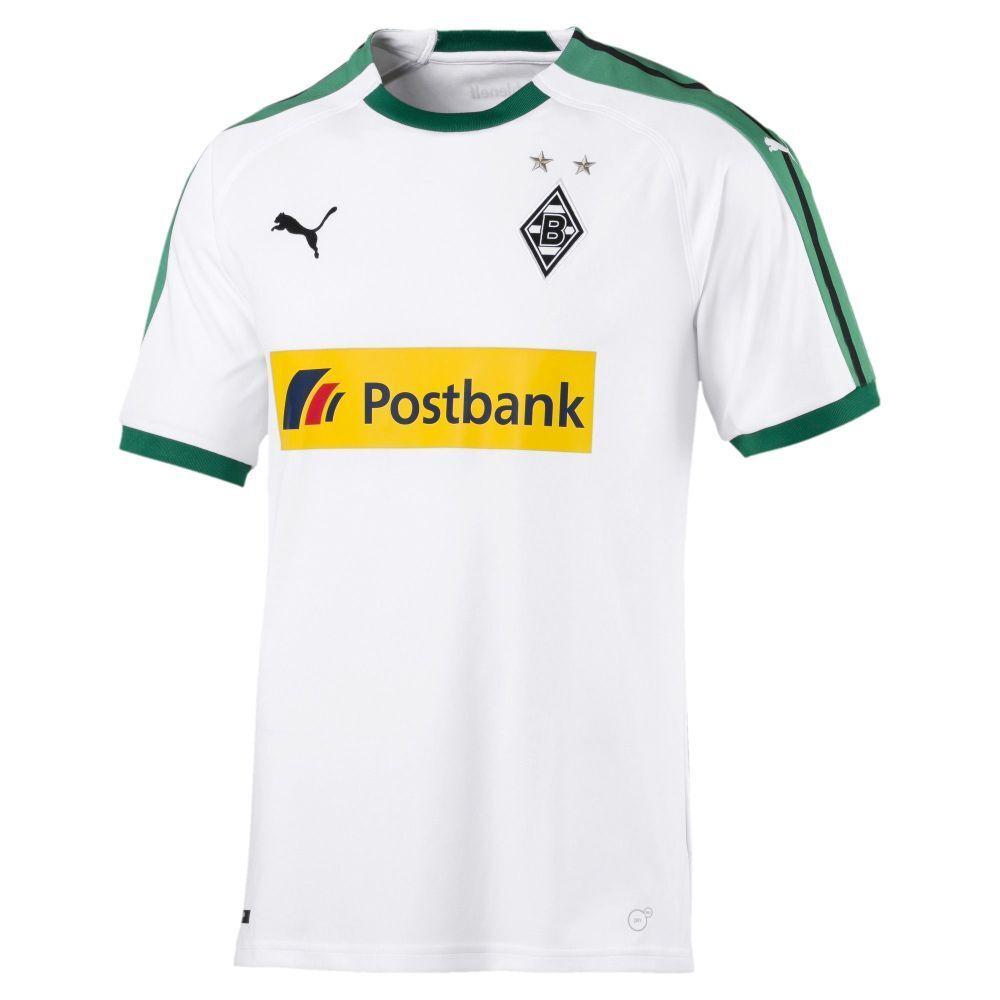 Puma BMG Borussia Mönchengladbach Fußball Herren Trikot Home 2018 2019 Herren Fußball weiß grün e0f549