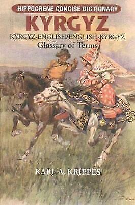 Kyrgyz-English/English-Kyrgyz Concise Dictionary, Krippes, Karl, Good Book