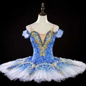 a02e9a0ed Caricamento dell'immagine in corso Classico-Professional-Balletto-Tutu- Blue-Bird-Fata-Ready-