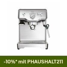 Sage Siebträger The Duo Temp Pro Edelstahl Espressomaschine
