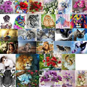 Divers-5D-Diamant-Broderie-Peinture-Point-Diamond-Painting-Kit-Animal-Home-Decor