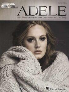 Adele Sing & Strum Guitar Vocal Corde Répertoire Hello Skyfall Quelqu 'un Comme Toi-afficher Le Titre D'origine