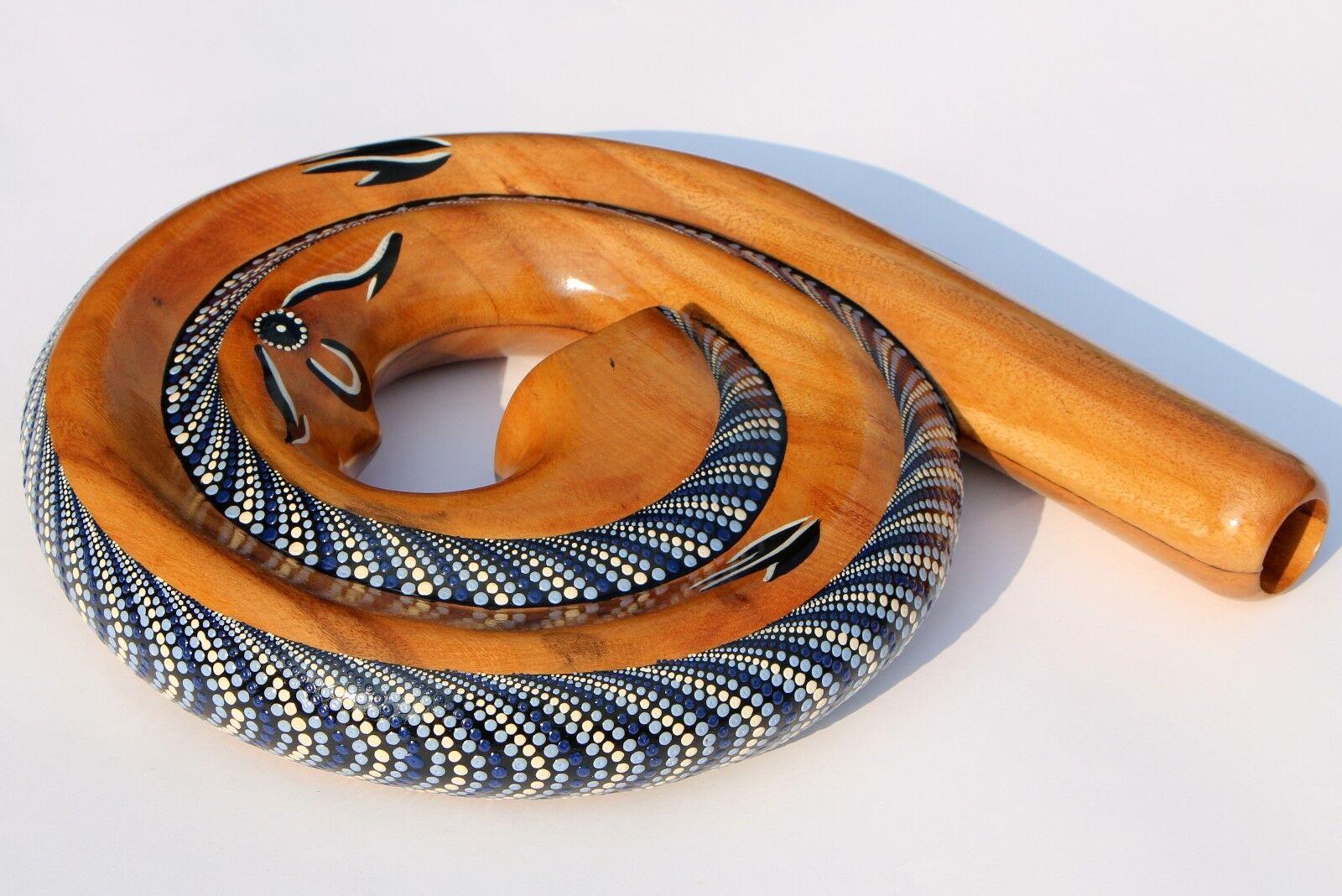 Spiral Reise Didgeridoo Horn Travel Didge 09