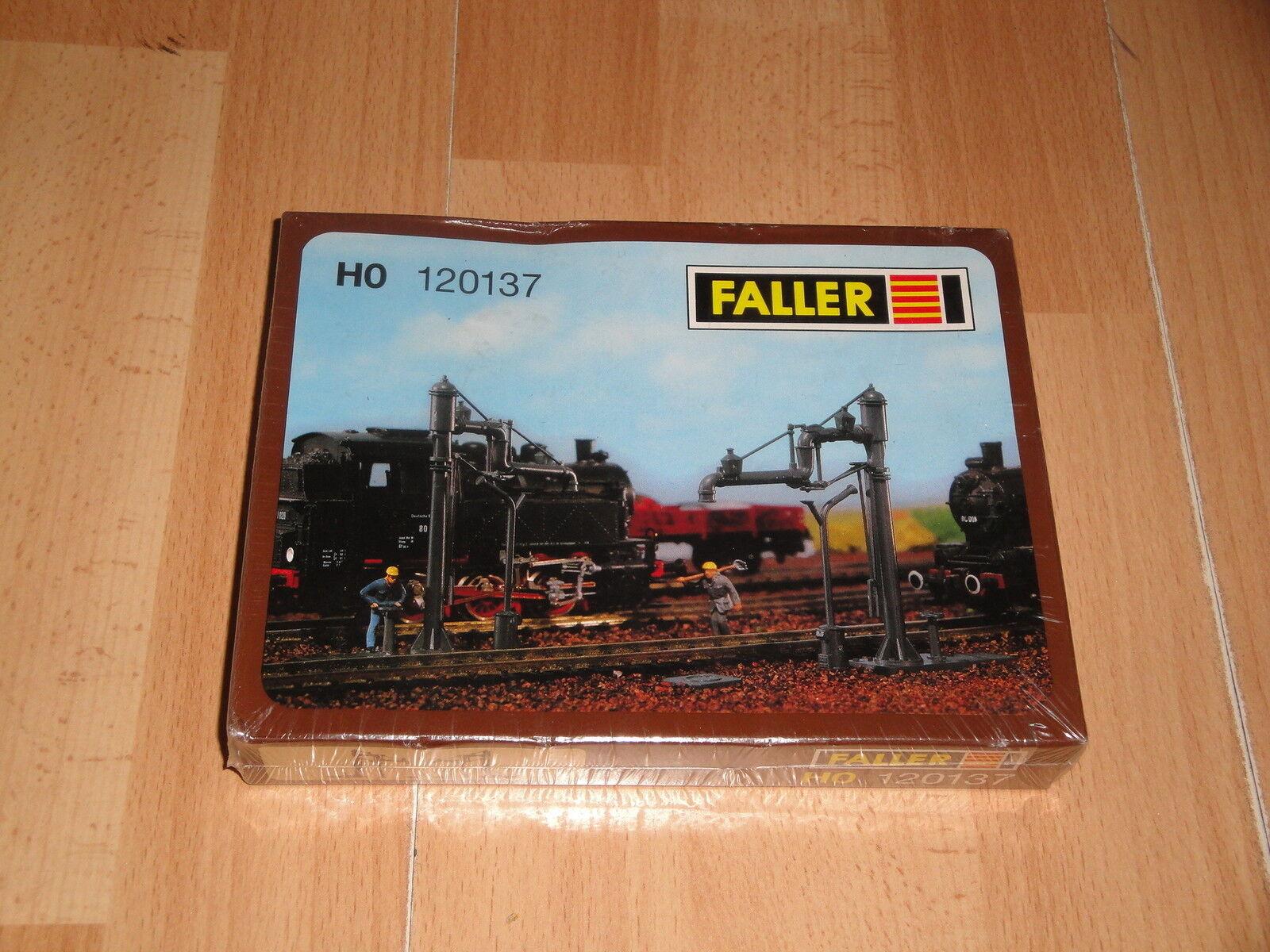 2 SWIVEL WATER CRANES BY FALLER FALLER FALLER HO 120137 MADE IN GERMANY NEW FACTORY SEALED 93e432