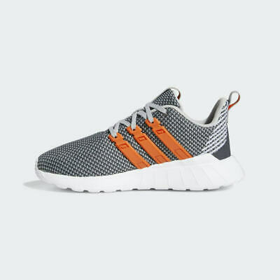 Kids Running Shoes Gray Orange White
