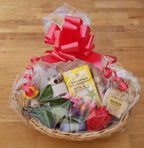 Image Is Loading Large Birthday Gift Basket Hamper Mother 039 S