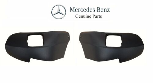 For Mercedes W220 S-Class Front Left /& Right Seat Trim Covers Black Genuine