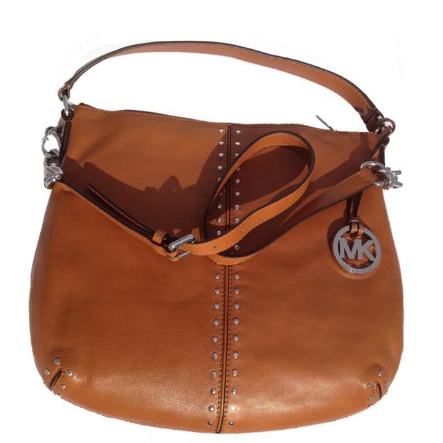 ... czech new michael kors astor luggage leathersilver chain  crossbodyshoulderhand bag b7ec2 c066f 1a622bbc71f1a