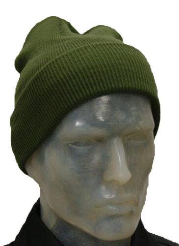 Warm Unisex Knitted Soft Woolly Winter Ski Beanie Hat Acrylic Cap Skateboard