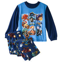Skylanders Swap Force Boy 2-piece Long-sleeve Soft Comfy Pajama Set Xs/s/m