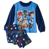 Skylanders Swap Force Boy 2-piece Long-sleeve Soft Comfy Pajama Set Xs/s/m