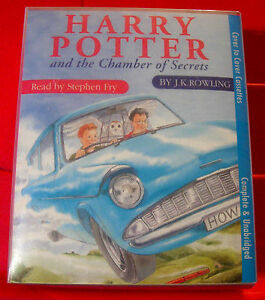 Harry-Potter-amp-The-Chamber-Of-Secrets-PINK-amp-BLUE-6-Tape-UNABR-Audio-Stephen-Fry