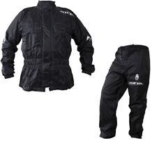 Richa Rain Warrior Motorcycle Motorbike Jacket and Trousers Black Kit Waterproof
