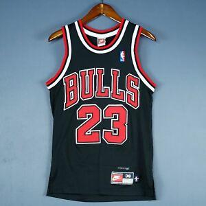 Image is loading 100-Authentic-Michael-Jordan-Original-Nike-Bulls-Jersey- 4633e433e
