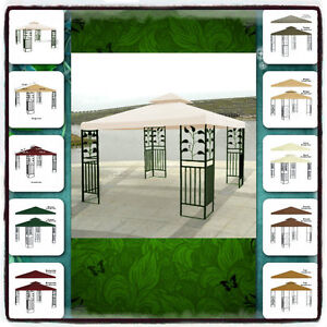 Replacement patio gazebos canopy outdoor metal tent garden cover