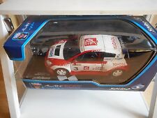 Solido Toyota Corolla Trophee Andros - 2006 A. Prost #3 in Red/White - 1:18 Box